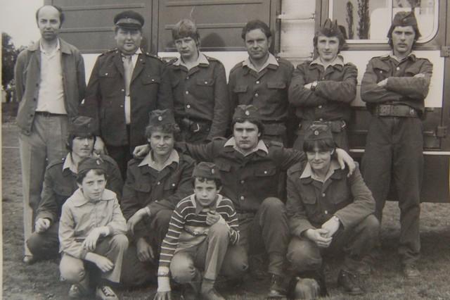 Družstvo z poloviny 80. let